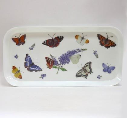 Поднос Бабочки 30x15см Roy Kirkham XBUTG1705