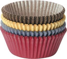Корзинка кондитерская DELICIA, 100шт., цветная, диаметр 6см