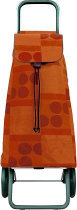 Сумка-тележка хозяйственная оранжевая Rolser LOGIC RG PAC010mandarina