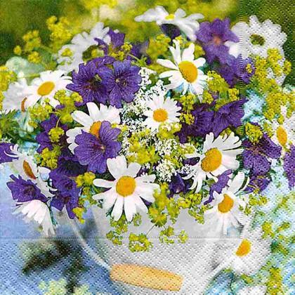 Салфетки для декупажа Paper+Design Садовый букет, 33x33см, 20шт LN0746