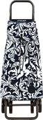 Сумка-тележка хозяйственная серебро с чёрным Rolser LOGIC DOS+2 PAC062blanco/negro