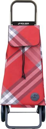 Сумка-тележка хозяйственная красная Rolser LOGIC RG PAC029rojo