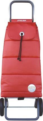 Сумка-тележка хозяйственная красная Rolser LOGIC RG PAC023rojo