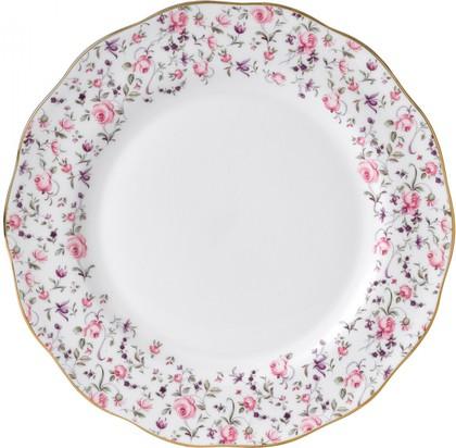 Тарелка Royal Albert Роза Конфетти, 27см ROSCON25812