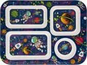 Поднос-менажница Lesser & Pavey Космонавты 30.5x23см LP45330
