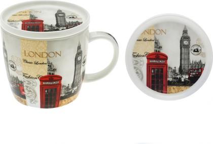 Кружка с подставкой 300мл Новый Лондон The Leonardo Collection LP19983
