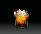 Набор для десерта желтый Thermic Glass, 2шт 240мл Luigi Bormioli 11870/01