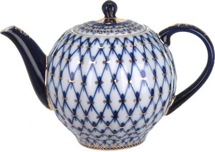 Чайник заварочный Кобальтовая сетка, ИФЗ Тюльпан 80.00231.00.1