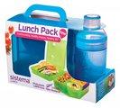 Набор ланчбокс 2л и бутылка 480мл Sistema Lunch 41580