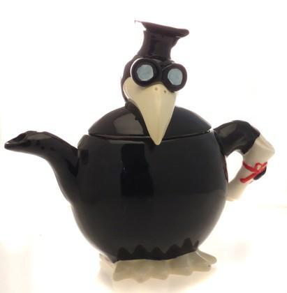 Чайник заварочный Ученый Ворон, 23см Jameson & Tailor JT1176