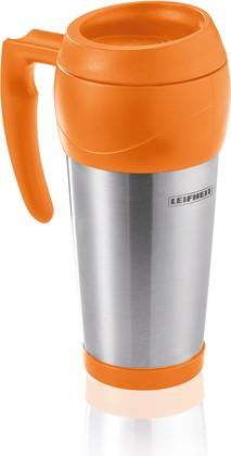 Термокружка нерж. сталь, оранжевый, 0.5л Lim.Edition Leifheit 25784