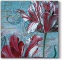 Салфетки для декупажа Paw Величественные тюльпаны, 33x33см, 20шт SDL083900