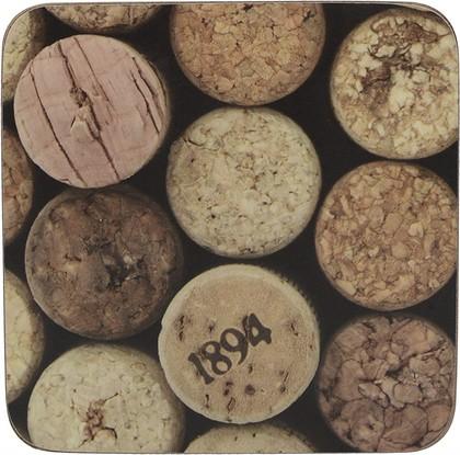 Подставки под чашку Creative Tops Cork 10.5x10.5, 6шт, пробка 5233718