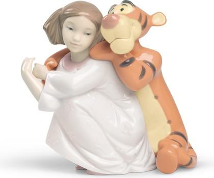 Статуэтка фарфоровая Объятия Тигры (Hugs With Tigger) 13см NAO 02001595