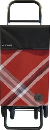 Сумка-тележка Rolser Bora Paris, 4 колеса, красная CLA007rojo