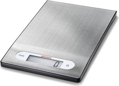 Весы кухонные электронные Soehnle Shiny Steel, 5кг/1гр, серебро 65121