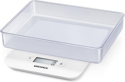Весы кухонные электронные Soehnle Compact, 5кг/1гр, белый 65122