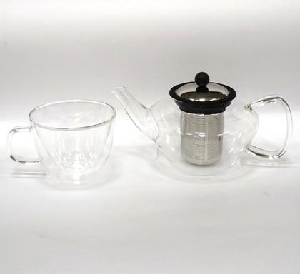 Набор чайный Lord, 2 предмета (чайник 0.6л, термокружка 0.25л) Walmer W03101060