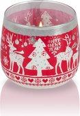 Свеча в стакане Bartek Candles Скандинавское Рождество 5901685051750