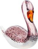 Фигурка стеклянная Top Art Studio Розовый лебедь 18см ZB2629-AG