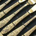 Столовые приборы, 24пр. Herdmar ATLANTA OLD GOLD #3 027302476ELE13