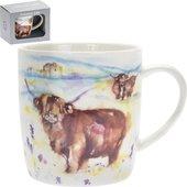 Кружка Lesser & Pavey Сельская жизнь Высокогорная корова 300мл LP33976