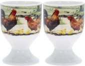 Подставка под яйцо Lesser & Pavey Петушки и курочки, 2шт LP94167