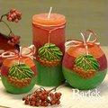 "Bartek Candles RUSTIC ROWAN BERRY Свеча ""Рябина"" - образ коллекции B, шар 80, артикул 5907602655452"