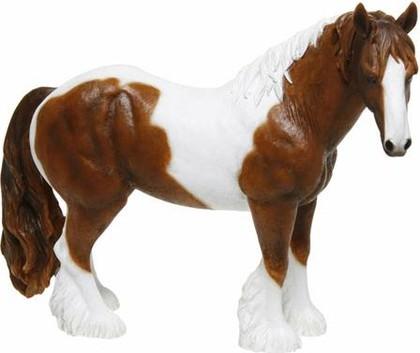 Фигурка Лошадь бело-коричневая, 20x25см The Leonardo Collection LP12868