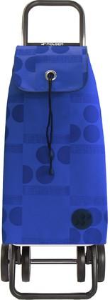 Сумка-тележка хозяйственная синяя Rolser Logos DOS+2 IMX044azul
