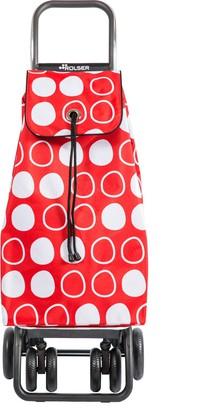 Сумка-тележка хозяйственная красная с рисунком Rolser I-Max Symbol IMX091Rojo