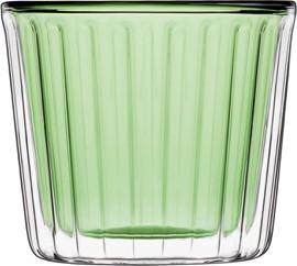 Набор для десерта зеленый Thermic Glass, 2шт 240мл Luigi Bormioli 11868/01