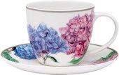 Чашка с блюдцем Ashdene Hydrangeas 517182