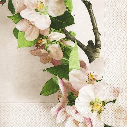 Салфетки для декупажа Цветки вишни, 33x33см, 3 слоя, 20шт Paper+Design 21919