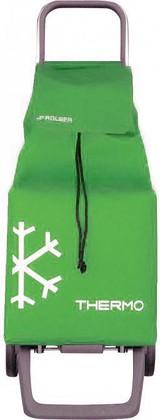 Термосумка-тележка хозяйственная зелёная Rolser JOY JET THERMO JET010verde