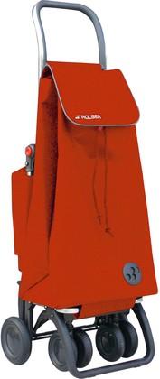 Термосумка-тележка хозяйственная оранжевая Rolser LOGIC TOUR THERMO PAC047mandarina