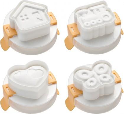Формочка для придания яйцу формы, 4шт Tescoma Presto 420658.00