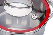 Кастрюля 5.4л стеклянная крышка 24х12см Storia vitro Regent Inox 93-STv-05
