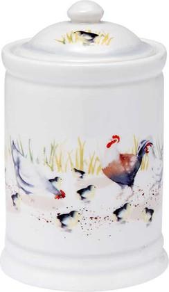 Ёмкость для сыпучих продуктов Ashdene Country Chickens 517288