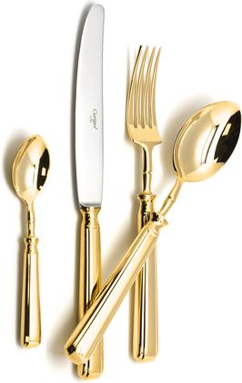 Набор столовых приборов Cutipol Piccadilly Gold, 72 предмета, золото 9141-72