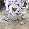 Чашка с блюдцем Розовые веточки, ф. Майская ИФЗ 81.13735.00.1