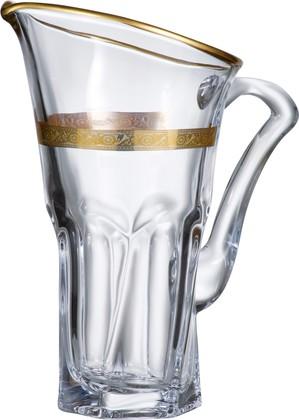 """Кувшин """"Аполло"""" декор 1700мл Crystalite Bohemia 3K725K/0/43373/170"""