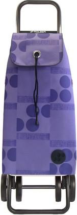 Сумка-тележка Rolser Logos, 4 колеса, складная, фиолетовая IMX047malva
