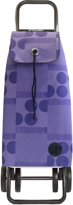 Сумка-тележка хозяйственная фиолетовая Rolser Logic Dos+3 IMX047malva