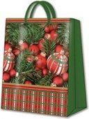 Пакет подарочный бумажный Paw Украшение для ёлки 33.5х13х26.5 см AGB007206
