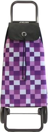 Сумка-тележка хозяйственная фиолетовая ROLSER Convert RG IMX031bassi