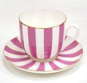 Чашка с блюдцем ИФЗ Ландыш, Да и Нет, светло-розовый 81.25355.00.5