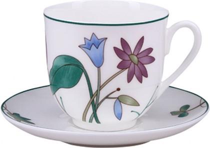 Чашка с блюдцем ИФЗ Ландыш, Цветы луговые 81.25573.00.1