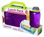 Набор Sistema Lunch контейнер с разделителями 975мл и бутылка 330мл 41575