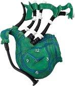 Настенные часы Enesco Зелёная волынка, 30см A24545